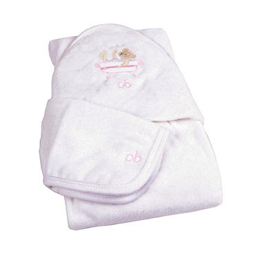 Piccolo Bambino Deluxe Spa Baby Gift Set, Pink
