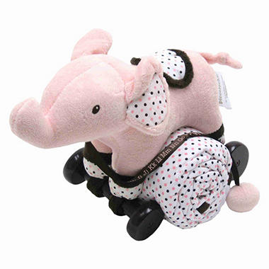 Piccolo Bambino Pull Toy with Baby Quilted Blanket - Elephant