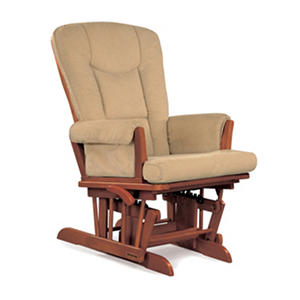 Shermag Victoria Glider Recliner Chair, Chablis/Oyster
