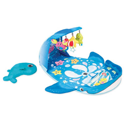 Infantino Wonder Whale Kicks & Giggles Gym