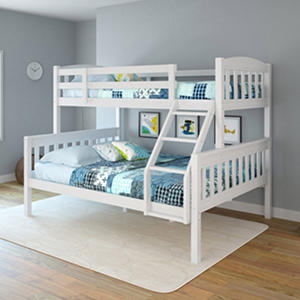 Apollo Snow White Bunk Bed  (Choose Size)