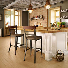 Amisco Cate Metal  Stool