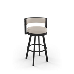 Amisco Browser Metal Swivel Stool