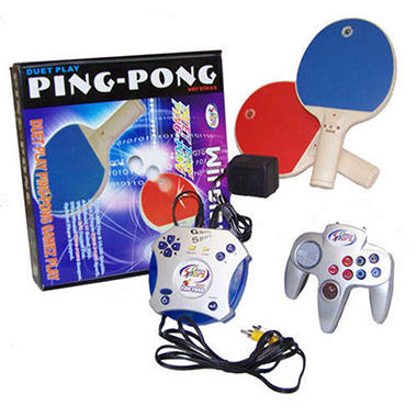 Plug n' Play Ping Pong Video Game System