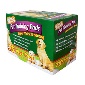 Miracle Absorb Pet Training Pads - Large - 75 ct.