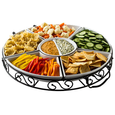 7 Piece Lazy Susan