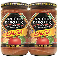On the Border Mexican Grill & Cantina Medium Salsa (24 oz., 2 pk.)