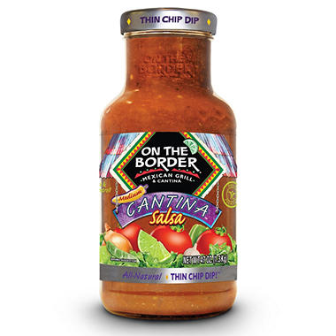 On The Border Medium Cantina Salsa (47 oz.)