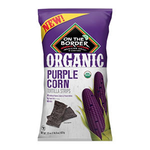 On The Border Purple Corn Tortilla Strips (22 oz.)