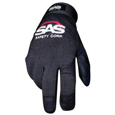 SAS MX Pro Tool Mechanics Safety Gloves - Black - 1 pair