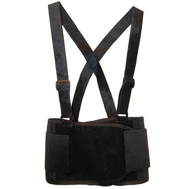 SAS Deluxe Back Support Belt - Black - Medium - 1 ct.