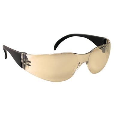 NSX Protective Safety Eyewear - Indoor/Outdoor Mirror Lens - 12 pairs