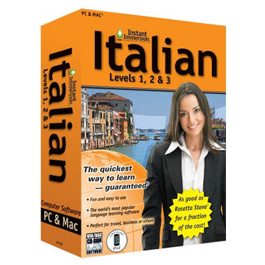 Topics Instant Immersion Italian Levels 1, 2, and 3