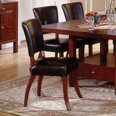 Taylor Leatherette Side Chair - 2  pk.