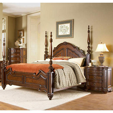 Aubrey Canopy Bedroom Set - 2 pc.