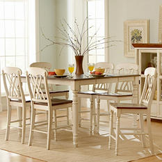 Fletcher 7Pc Counter Height Dining Set (Choose a Color)
