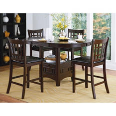 Uptown 5Pc Counter Height Dining Set