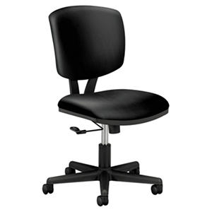 HON - Volt Series Task Chair - Black Leather