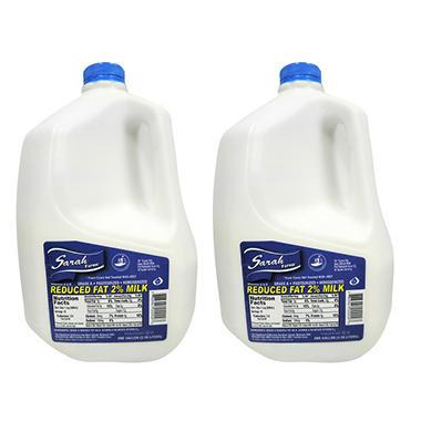 Sarah Farms Reduced Fat 2% Milk (1 gal., 2 ct.)
