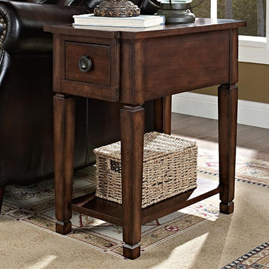 Everitt Recliner Accent Table