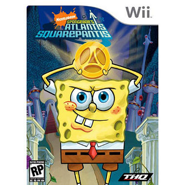 Spongebob Atlantis Squarepantis - Wii
