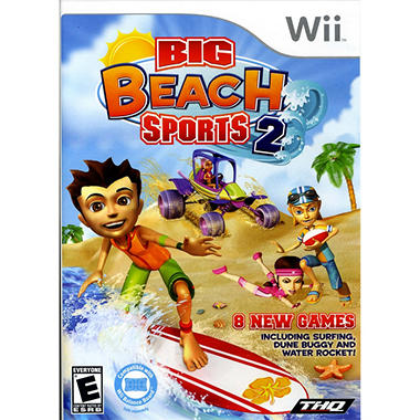 Big Beach Sports 2 - Wii