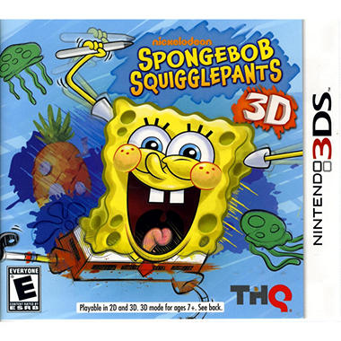Spongebob Squigglepants - 3DS