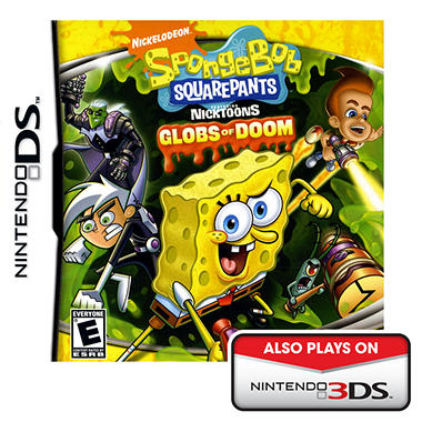 SpongeBob Squarepants Featuring Nicktoons: Globs of Doom - NDS