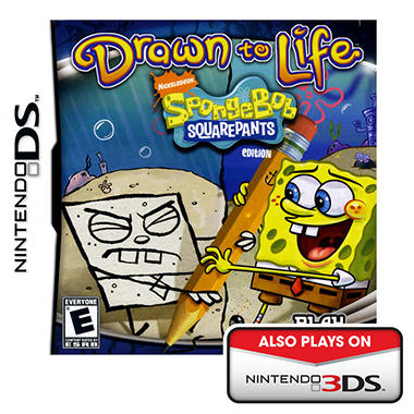 Drawn to Life: SpongeBob Squarepants Edition - NDS