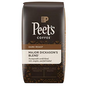 Peet's Coffee Major Dickason's Blend Deep Roast, Whole Bean (32 oz.)