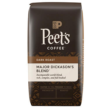 Peet's Coffee Major Dickason's Blend Deep Roast Whole Bean Coffee - 32 oz.