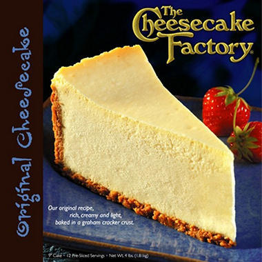 "Cheesecake Factory 9"" Original Cheesecake"