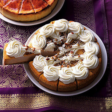 Cheesecake Factory® Pumpkin Cheesecake