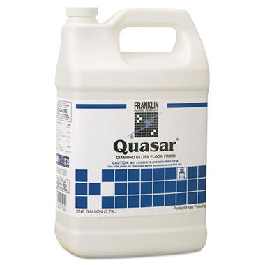 Franklin Quasar Diamond Gloss Floor Finish - 1 gal. - 4 pk.