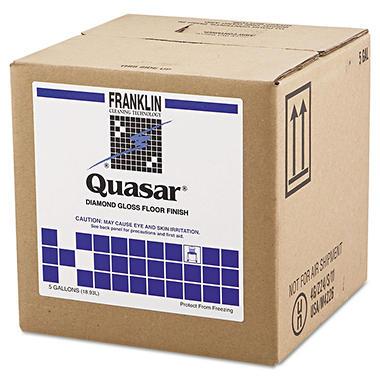 Franklin Quasar Diamond Gloss Floor Finish - 5 gal.