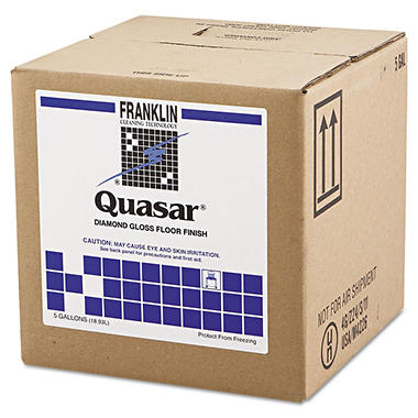 Franklin Quasar Diamond Gloss Floor Finish - 5 gal.
