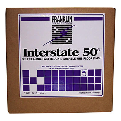 Franklin Interstate 50 Variable UHS Floor Finish - 5 gal.