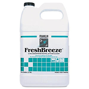 Franklin Fresh Breeze Concentrated Neutral Cleaner - 1 gal. - 4 pk.