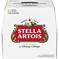 Stella Artois (11.2 oz. bottles, 12 pk.)