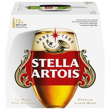 STELLA ARTOIS 12 / 11.2 OZ BOTTLES