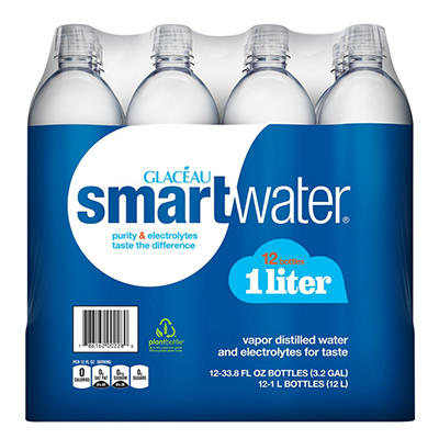 Smartwater Water - 12/1 Liter