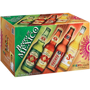 Beers of Mexico Variety Pack (12 fl. oz. bottle, 24 pk.)