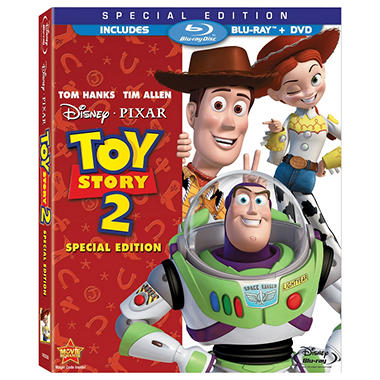 Toy Story 2 (2-Disc) (Blu-ray + DVD) (BD Amaray) (Widescreen)
