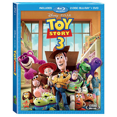 Toy Story 3 (Blu-ray + DVD) (Widescreen)