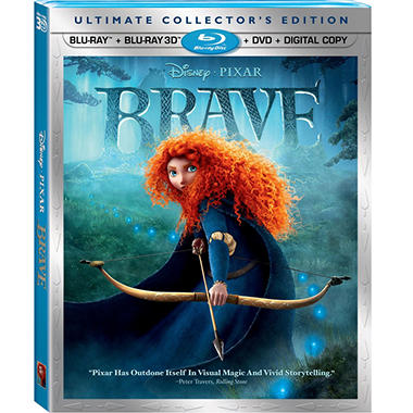 Brave (3D Blu-ray + 2-Disc Blu-ray + DVD + Digital Copy)