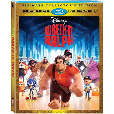 Wreck It Ralph (3D Blu-ray + Blu-ray + DVD + Digital Copy) (Widescreen)