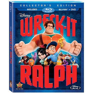 Wreck It Ralph (Blu-ray + DVD) (Widescreen)