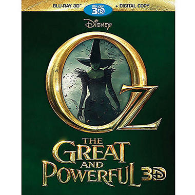 Oz: The Great And Powerful (3D Blu-ray + Digital Copy) (Widescreen)