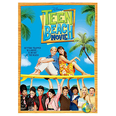 Teen Beach Movie (DVD + Surfboard Zipper Pull) (Widescreen)