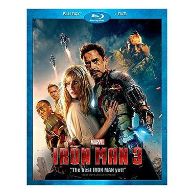 Iron Man 3 (Blu-ray + DVD) (Widescreen)